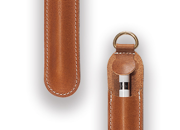 Pencil leather case